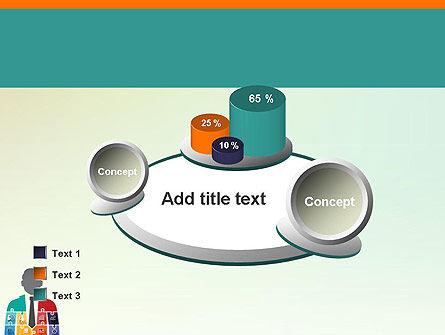 Jigsaw Person PowerPoint Template Slide 16