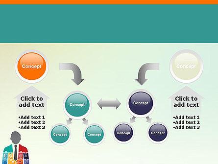 Jigsaw Person PowerPoint Template Slide 19