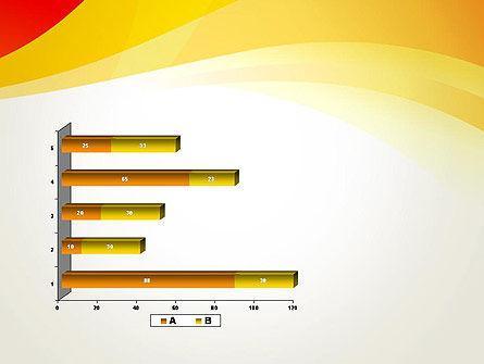 Orange Waves PowerPoint Template Slide 11