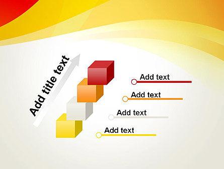 Orange Waves PowerPoint Template Slide 14
