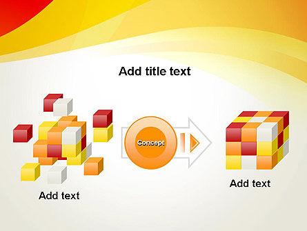 Orange Waves PowerPoint Template Slide 17