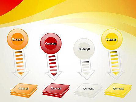Orange Waves PowerPoint Template Slide 8