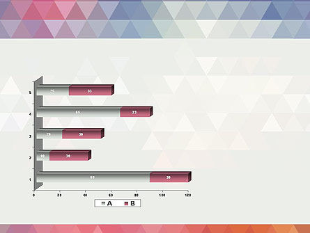 Abstract Pastel Colorful Triangle Pattern PowerPoint Template Slide 11