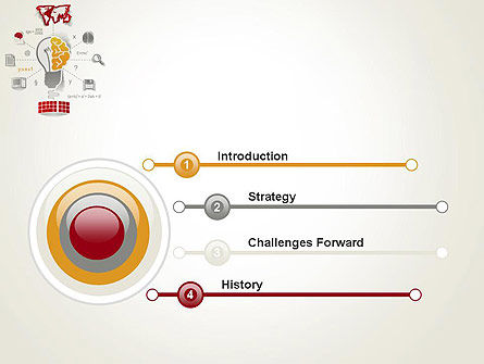 Knowledge Management PowerPoint Template, Slide 3, 12325, Education & Training — PoweredTemplate.com