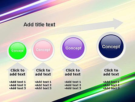 Spectral Moving Lights PowerPoint Template Slide 13