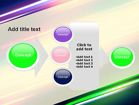 Spectral Moving Lights PowerPoint Template Slide 17