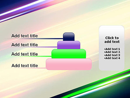 Spectral Moving Lights PowerPoint Template Slide 8