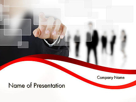 Personal Development PowerPoint Template, 12327, Careers/Industry — PoweredTemplate.com
