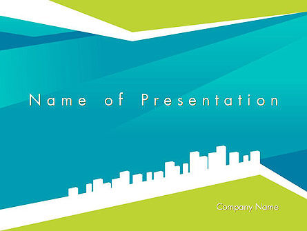 City Skyline PowerPoint Template