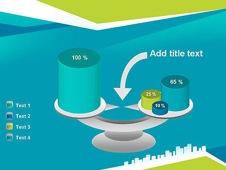City Skyline PowerPoint Template Slide 10