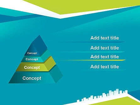 City Skyline PowerPoint Template Slide 12
