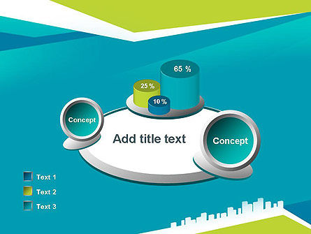 City Skyline PowerPoint Template Slide 16