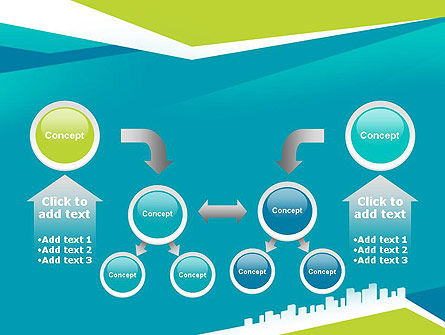 City Skyline PowerPoint Template Slide 19