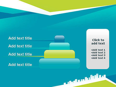 City Skyline PowerPoint Template Slide 8