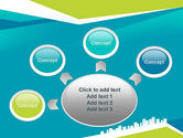 City Skyline PowerPoint Template#7