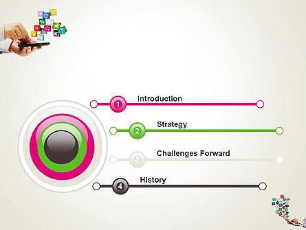 Application Development PowerPoint Template, Slide 3, 12331, Technology and Science — PoweredTemplate.com