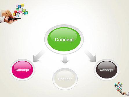 Application Development PowerPoint Template, Slide 4, 12331, Technology and Science — PoweredTemplate.com