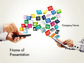 Technology and Science: Application Development PowerPoint Template #12331