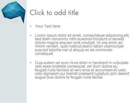 Creative Speech Bubble PowerPoint Template, Slide 3, 12332, Abstract/Textures — PoweredTemplate.com