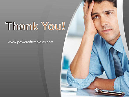 Feeling Pressure PowerPoint Template Slide 20
