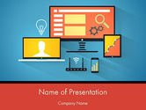 Telecommunication: Wifi Verbinding PowerPoint Template #12334