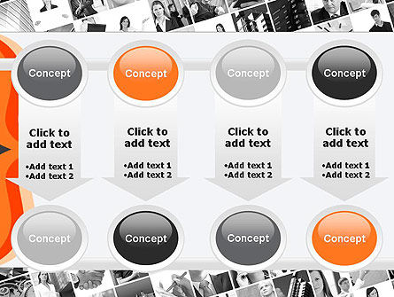 Brace Symbol Theme PowerPoint Template Slide 18