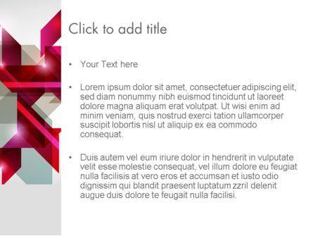 Geometric Composition PowerPoint Template, Slide 3, 12337, Abstract/Textures — PoweredTemplate.com