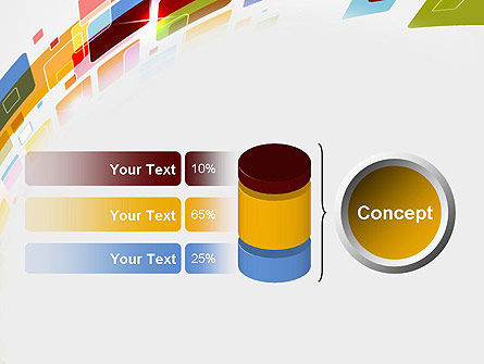 Colorful Abstract Technology PowerPoint Template Slide 11