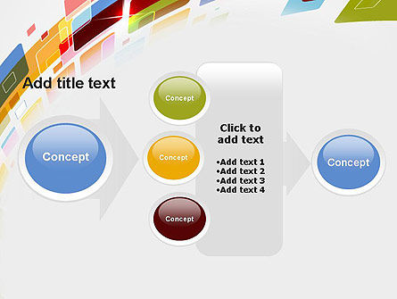Colorful Abstract Technology PowerPoint Template Slide 17