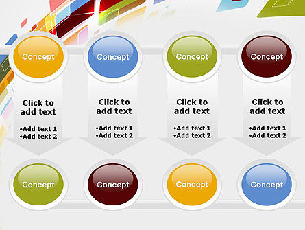 Colorful Abstract Technology PowerPoint Template Slide 18