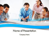 People: Joint Venture PowerPoint Template #12340