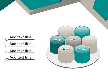 Abstract Geometric PowerPoint Template Slide 12