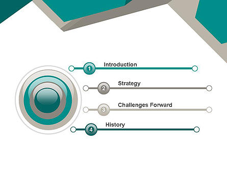 Abstract Geometric PowerPoint Template Slide 3