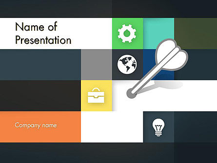 Hit the Mark PowerPoint Template