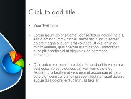 Segmented Pie Chart PowerPoint Template, Slide 3, 12346, Consulting — PoweredTemplate.com