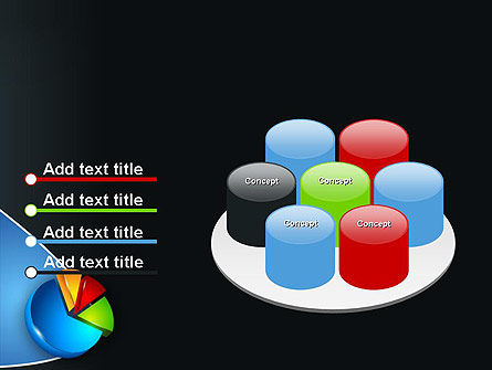 Segmented Pie Chart PowerPoint Template Slide 12