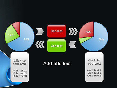 Segmented Pie Chart PowerPoint Template Slide 16