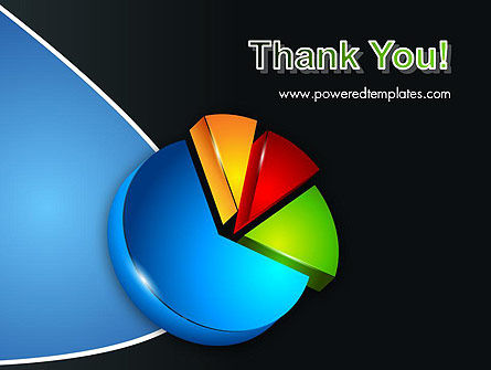 Segmented Pie Chart PowerPoint Template Slide 20
