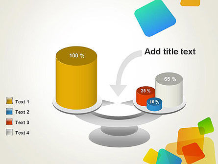 Transparent Colored Squares PowerPoint Template Slide 10