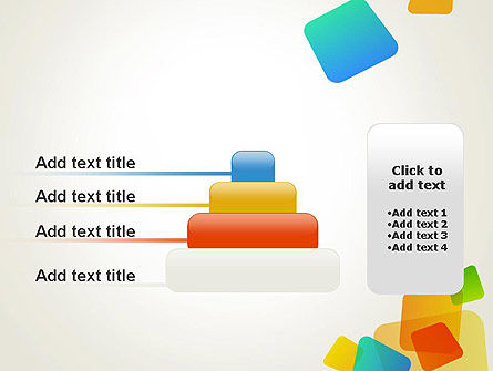Transparent Colored Squares PowerPoint Template Slide 8