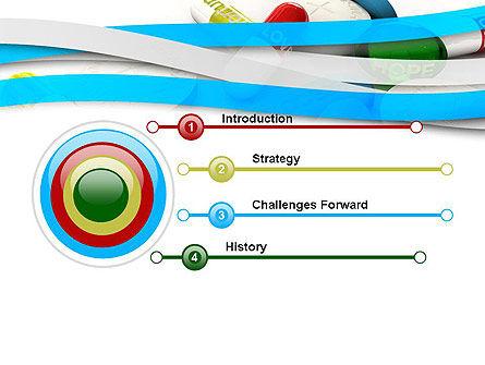 Pills for Everything PowerPoint Template, Slide 3, 12352, Education & Training — PoweredTemplate.com