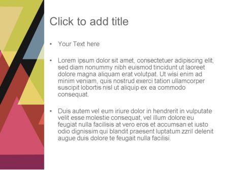 Geometric Abstraction PowerPoint Template, Slide 3, 12355, Abstract/Textures — PoweredTemplate.com