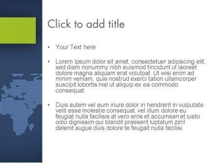 World Map Continents PowerPoint Template, Slide 3, 12357, Global — PoweredTemplate.com