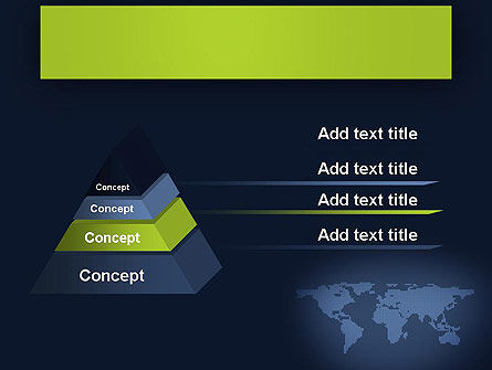 World Map Continents PowerPoint Template Slide 12