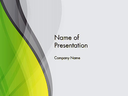 Abstract Plexus PowerPoint Template