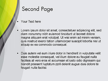 Abstract Plexus PowerPoint Template Slide 2