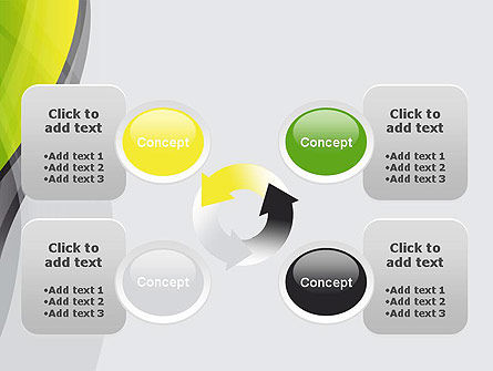 Abstract Plexus PowerPoint Template Slide 9