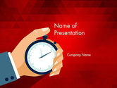 Careers/Industry: Time Tracking PowerPoint Template #12362