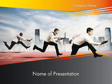 Business Competing PowerPoint Template