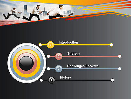Business Competing PowerPoint Template, Slide 3, 12363, Careers/Industry — PoweredTemplate.com